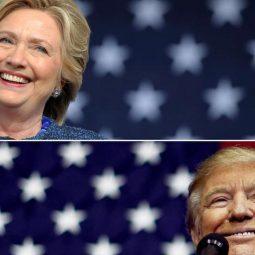 Donald Trump La courses aux élections présidentielles-Atlaneastro