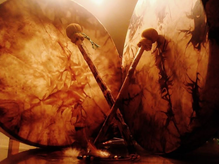 Le tambour médecine ancestrale voyage chamanique