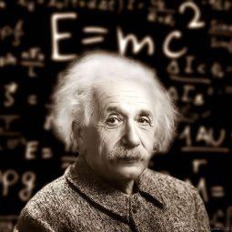 Einstein théorie E=mc2 sur le tableau étoiles Part.1-Atlaneastro