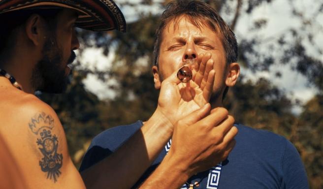 un participant fume crapaud-Atlaneastro