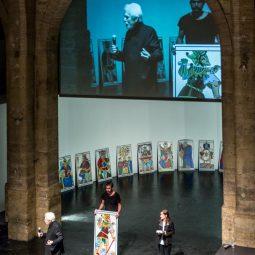 Jodorowsky en conférence psychomagie cabaret mystique protagonistes-Atlaneastro