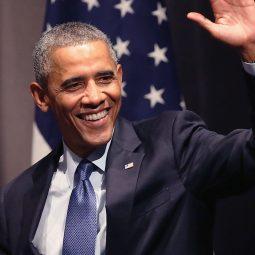 Barack Obamaex présidentd des Etats-Unis-Atlaneastro