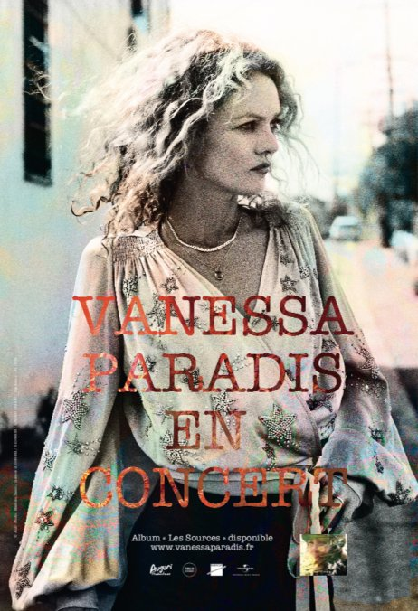 Vanessa Paradis en concert séduction-Atlaneastro