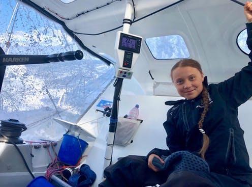 Greta Thunberg à bord de son voilier à zéro émission carbone sauver notre planète Part.2-Atlaneastro