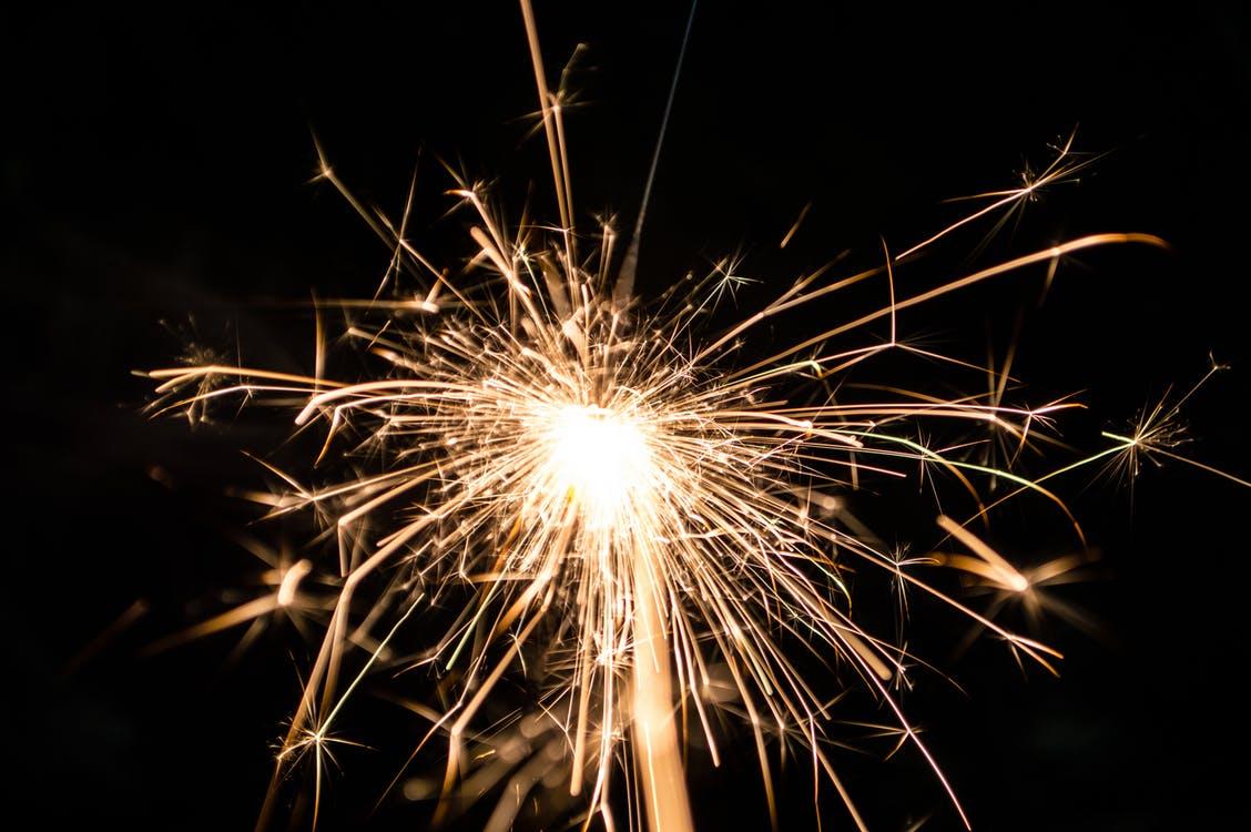 Merciii feu d'artifice gerbe de feu-Atlane astro