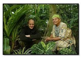Yann Kounen et son chamane dans la forêt amazonnienne-Atlaneastro