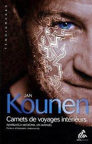 Yann Kounencouverturede magasine avec tatouages blancs sur le visage-Atlaneastro