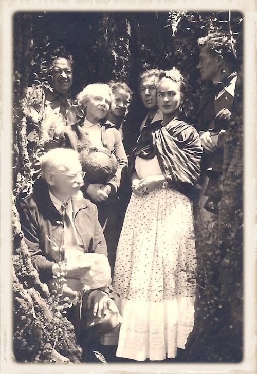 ANdré Breton Frida Khalo à Paris Part.2-Atlaneastro
