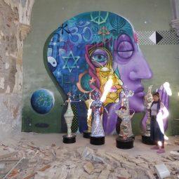 Lucy Raverat tableaux et ses Déesses Part.2-Atlaneastro