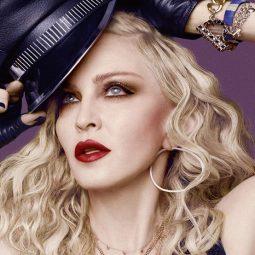 Madonna portrait couleur chapeau noir Part.1-Atlaneastro