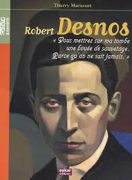 1 ère de couverture Robert Desnos part.2-Atlaneastro