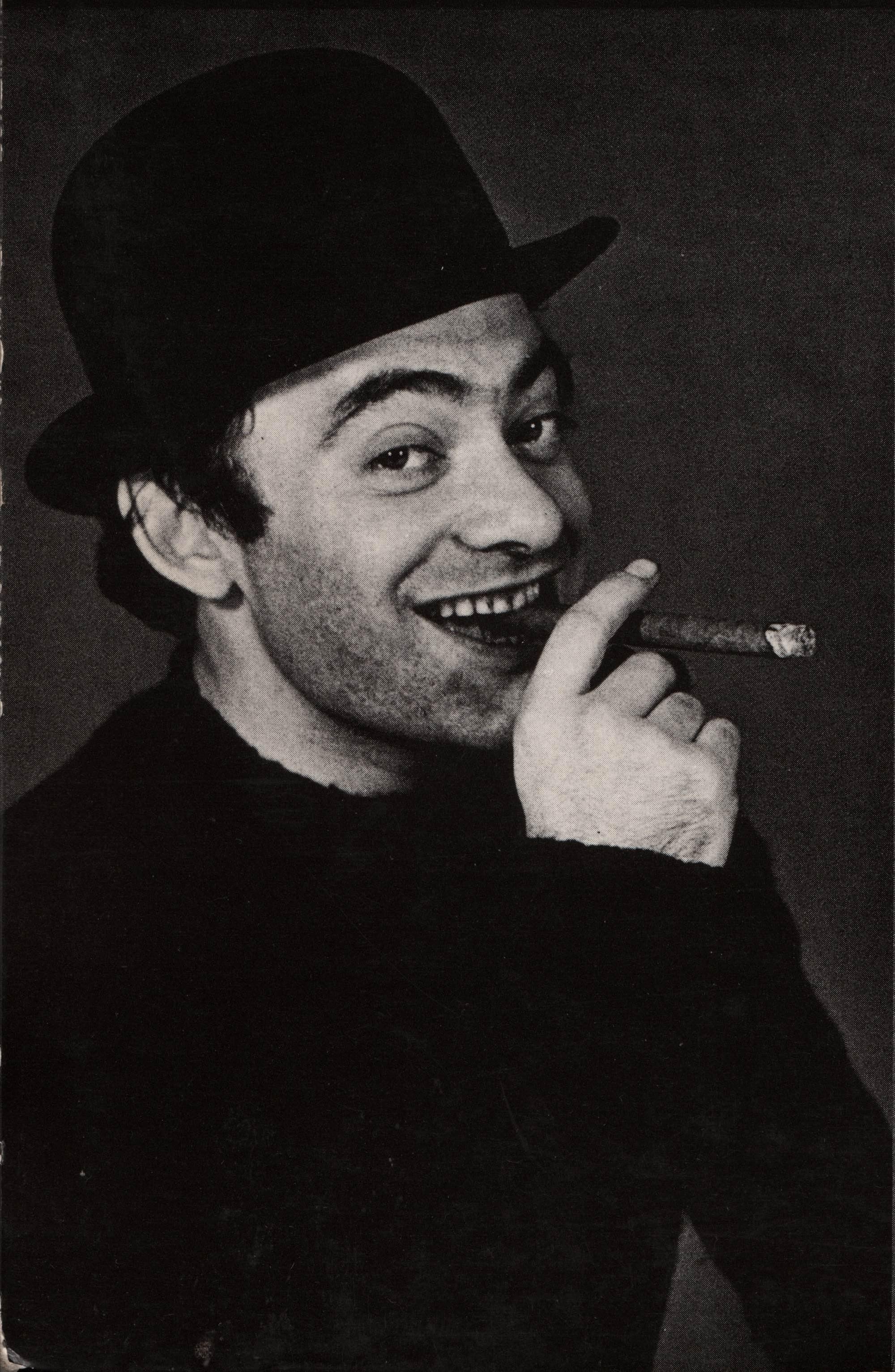 Roland Topor chapeau haut de forme et cigare Part.1-Atlaneastro