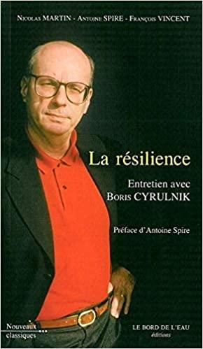 Boris en couverture de son libre La résileince Part.1-Atlaneastro