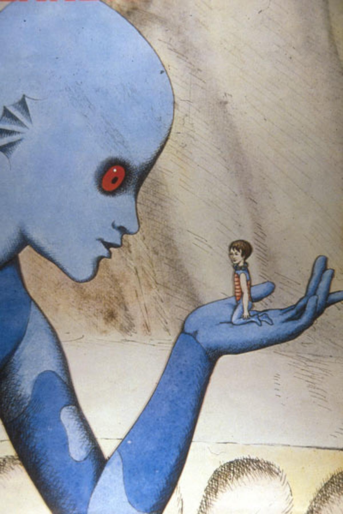 Topor dessin de son film la Planète sauvage PArt.2-Atlaneastro