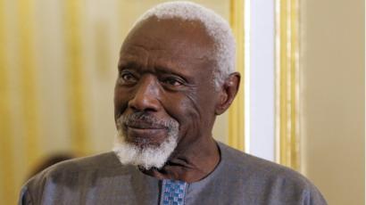 Ousmane Sow portrait cheveux et barbe blanche Part.2-Atlaneastro