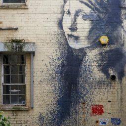 Banksy la jeune fille à la perle Part.1-Atlaneastro