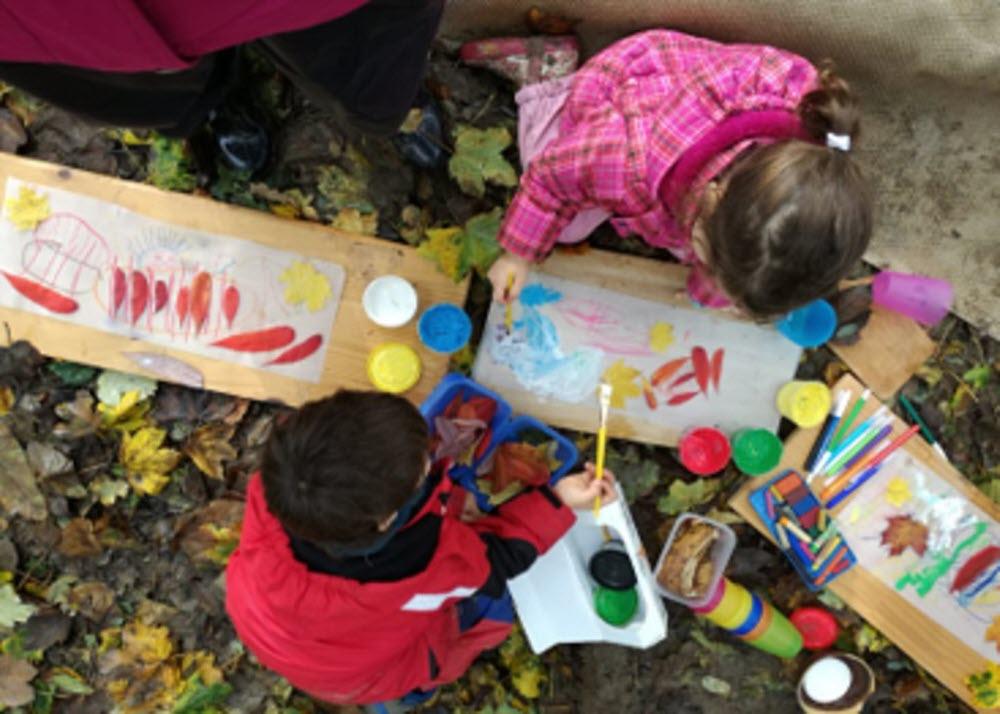 école des enfants atelier peinture Part.1-Atlaneastro