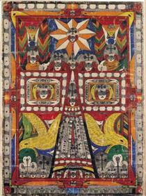 Wolfli dessin trèscoloréet symétrique Part.3-Atlaneastro