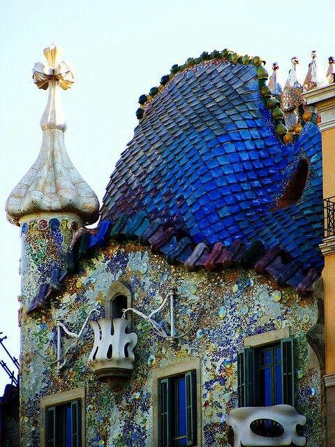 casa Batllo Gaudi Part.2-Atlaneastro