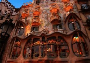 Gaudi style organique Casa La Batllo Part.2-Atlaneastro