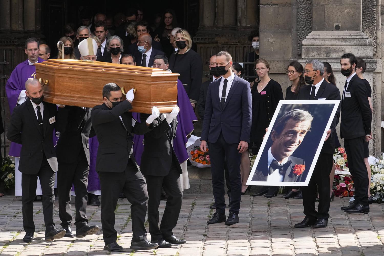 Jean-Paul Belmondo ses funérailles -Atlaneastro