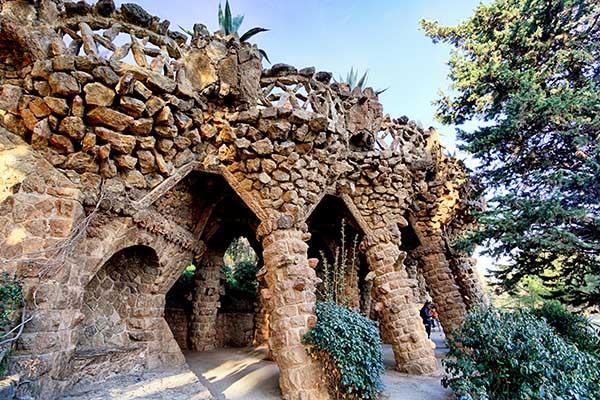 Antonin Gaudi Parc Güell Part.3-Atlaneastro